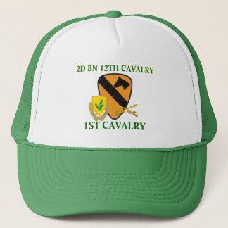 第2大隊の第12騎兵隊の第1騎兵隊の帽子 キャップ