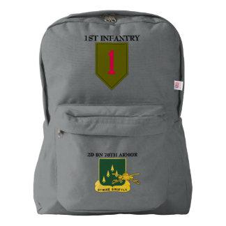 第2大隊第70の装甲第1歩兵はBACKPACK AMERICAN APPAREL™バックパック