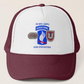 第2大隊(ABN)の503D歩兵の帽子 キャップ