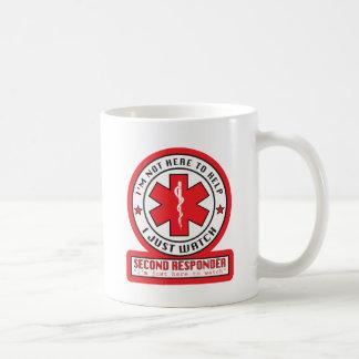 第2応答機のマグ コーヒーマグカップ