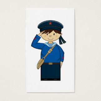 第2次世界大戦のロシアのな船員のしおり 名刺