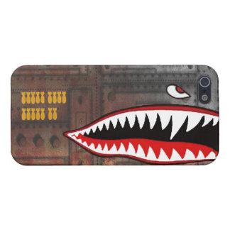 第2次世界大戦の爆撃機の鮫の歯 iPhone 5 ケース