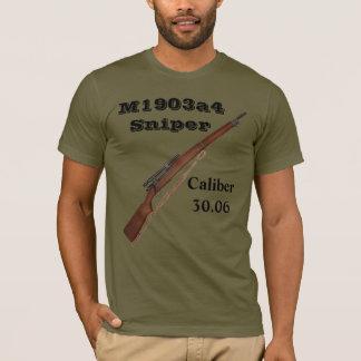 第2次世界大戦の狙撃銃のTシャツ- m1903a4ライフル! Tシャツ