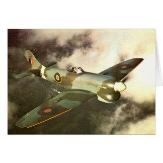 第2次世界大戦の飛行中の歴史的な戦時の航空機 カード