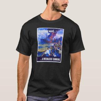 第2次世界大戦ポスター Tシャツ