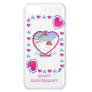 第2綿の結婚記念日、 iPhone5Cケース