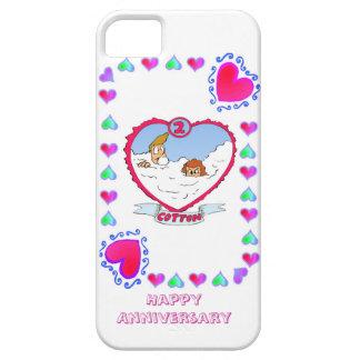 第2綿の結婚記念日、 iPhone SE/5/5s ケース
