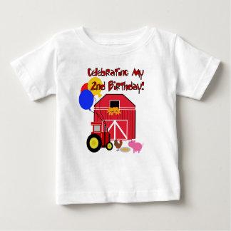 第2誕生日を耕作して下さい ベビーTシャツ