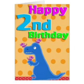 第2誕生日ディーノ カード