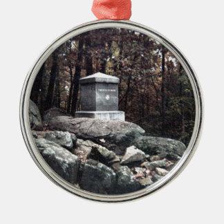 第20少し円形上Gettysburgのメインの記念物 メタルオーナメント