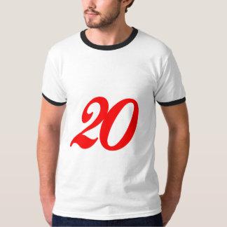 第20第20誕生日プレゼント Tシャツ