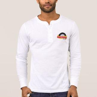 第20記念日の記念する長袖ボタン Tシャツ