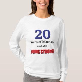 第20記念日 Tシャツ