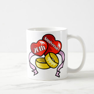 第20記念日w コーヒーマグカップ
