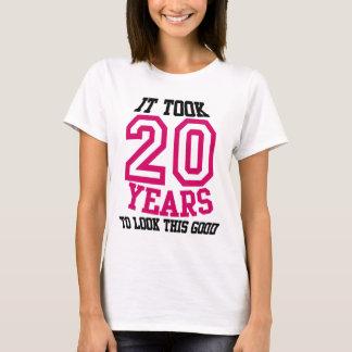 第20誕生日のTシャツ Tシャツ