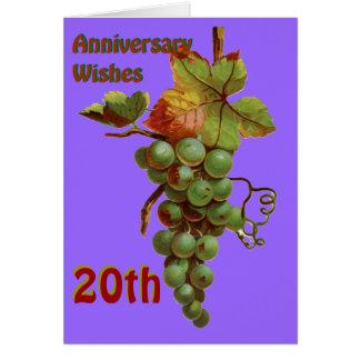第20 customiseable記念日の願い カード