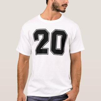 第20 frontsideのプリント tシャツ