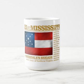 第21ミシシッピーの歩兵(BA2) コーヒーマグカップ