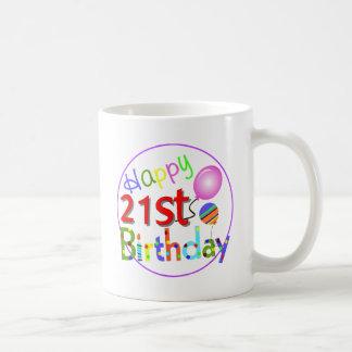 第21誕生日の挨拶 コーヒーマグカップ
