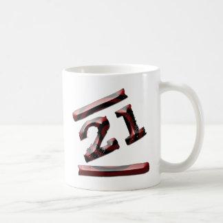 第21誕生日 コーヒーマグカップ