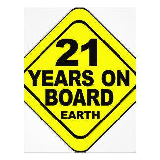 第21誕生日 チラシ