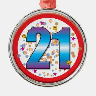第21誕生日v2 メタルオーナメント