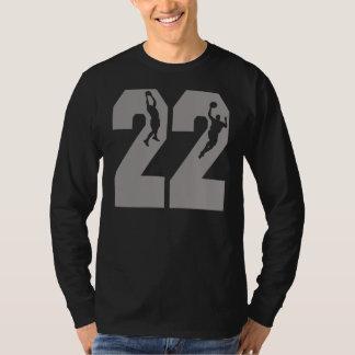 第22バスケットボール選手 Tシャツ