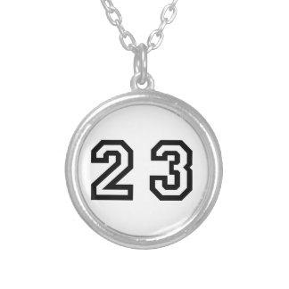 第23 シルバープレートネックレス