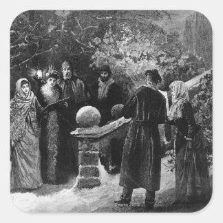第24 1891年12月: 邸宅のパーティー スクエアシール