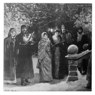 第24 1891年12月: 邸宅のパーティー タイル