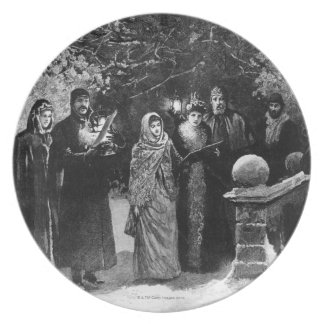 第24 1891年12月: 邸宅のパーティー プレート