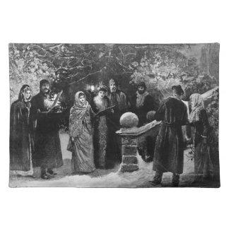 第24 1891年12月: 邸宅のパーティー ランチョンマット