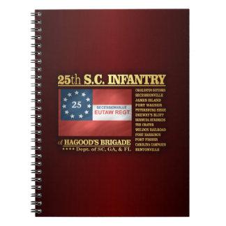 第25サウスカロライナの歩兵(BA2) ノートブック