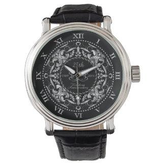 第25華美な結婚記念日の銀-腕時計 腕時計