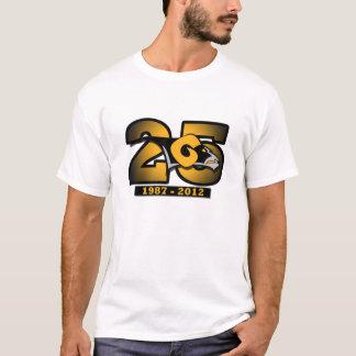 第25記念日のティー Tシャツ