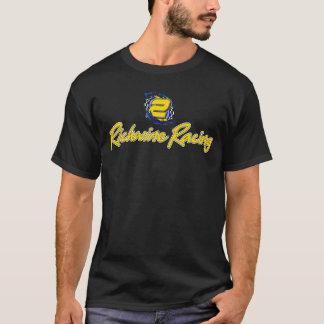 第25記念日の暗闇のTシャツを競争させるRichwine Tシャツ