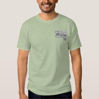 第25記念日 刺繍入りTシャツ