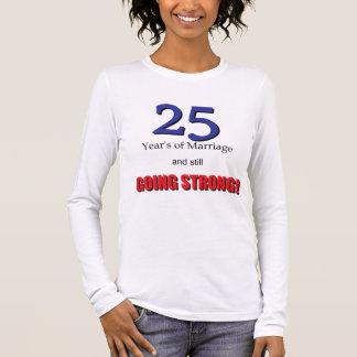 第25記念日 長袖Tシャツ