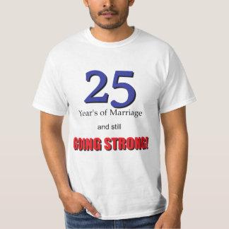 第25記念日 Tシャツ