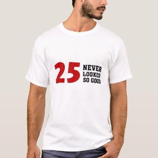 第25誕生日 Tシャツ