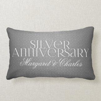 第25銀製結婚式のAnnivsersaryの写真 ランバークッション