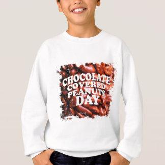 第25 Februarチョコレートピーナツ日 スウェットシャツ