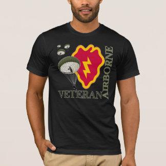 第25 IDの空輸の退役軍人 Tシャツ