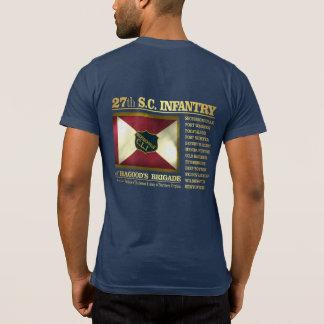 第27サウスカロライナの歩兵(BA2) Tシャツ