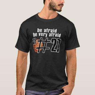 第27バスケットボールのデザイン Tシャツ