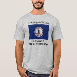 第27ヴァージニアの歩兵 Tシャツ