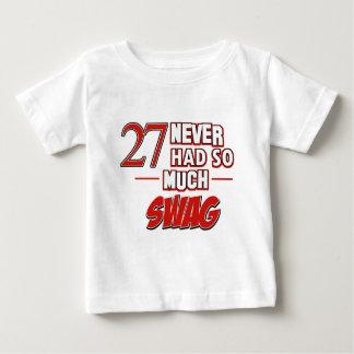 第27年記念日 ベビーTシャツ
