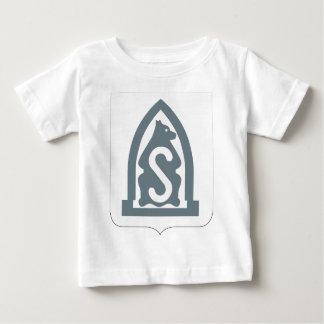 第27歩兵連隊-紋章付き外衣 ベビーTシャツ