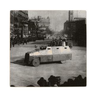 第27 1917年3月:  装甲車両の艦隊 ウッドコースター