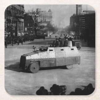 第27 1917年3月:  装甲車両の艦隊 スクエアペーパーコースター